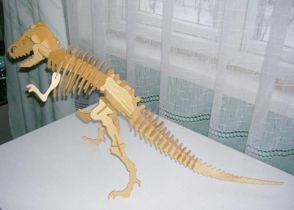Скелет динозавров своими руками