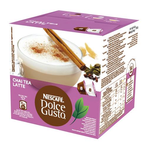 Чай латте в капсулах