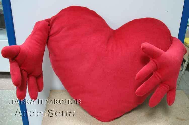 Плюшевые сердца своими руками 295