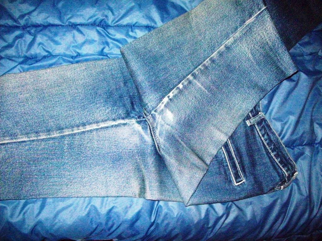 Как увеличить размер брюк своими руками 51