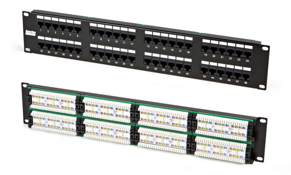 Hyperline PP2-19-48-8P8C-C5e-110D - купить в Краснода