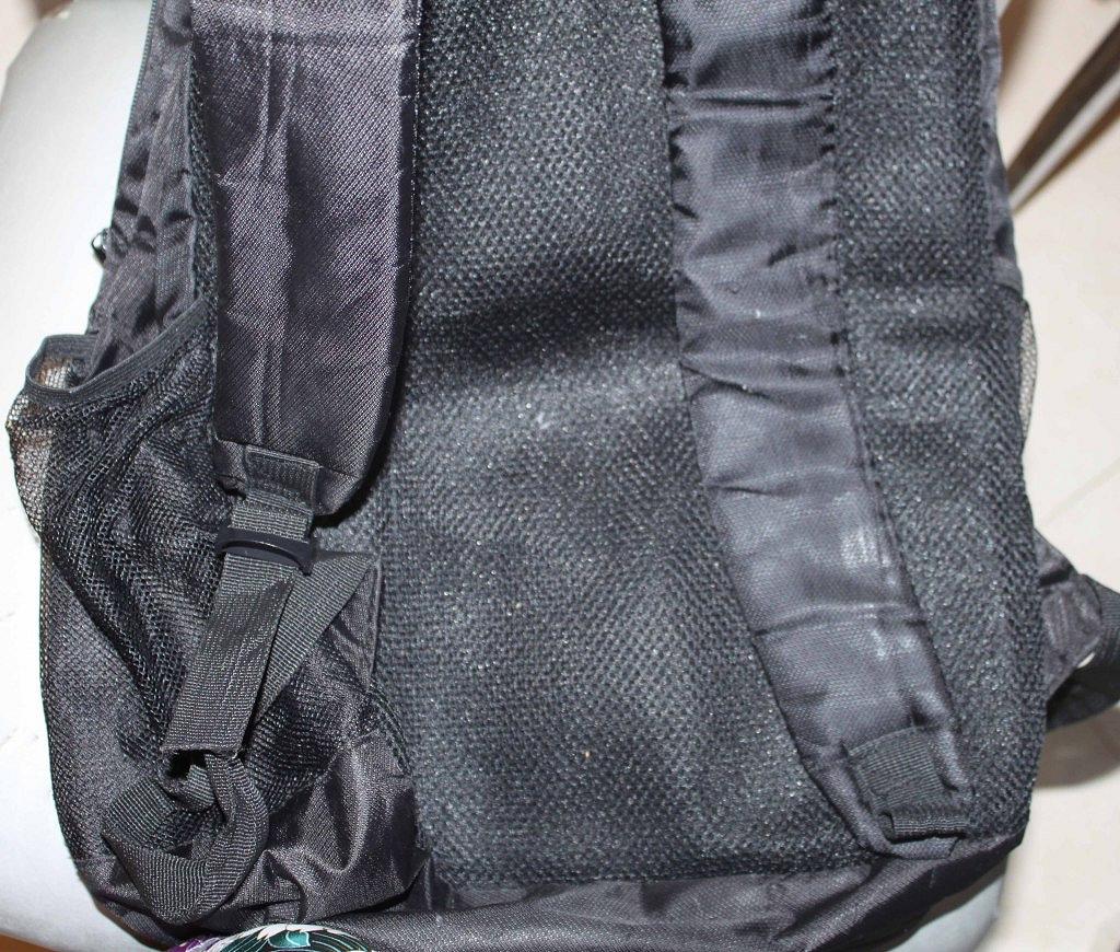 ОВ Трубная.  Рюкзак черный adidas. .  Из недостатков: обтрепались золотистые...