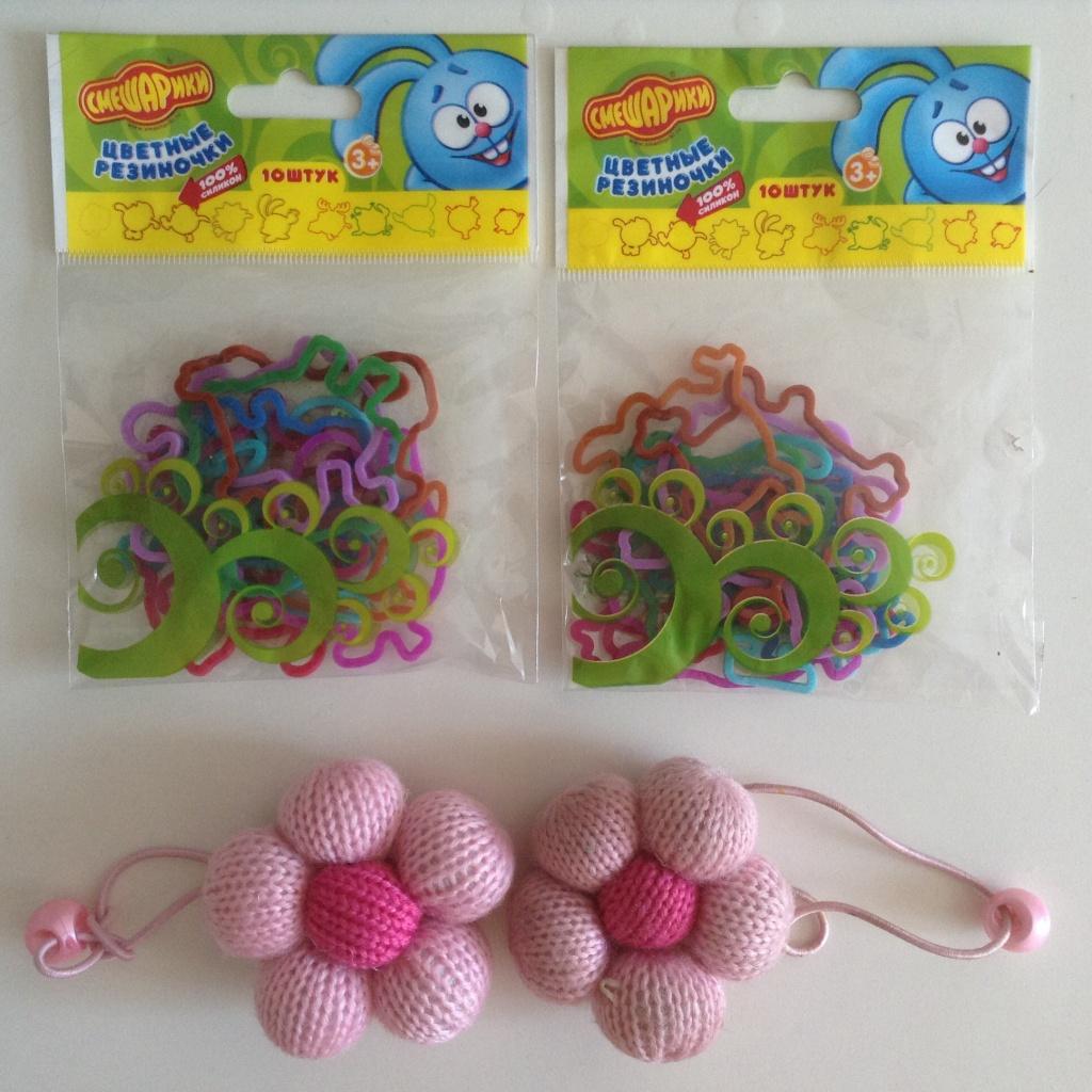 Резиночки для маленьких девочек
