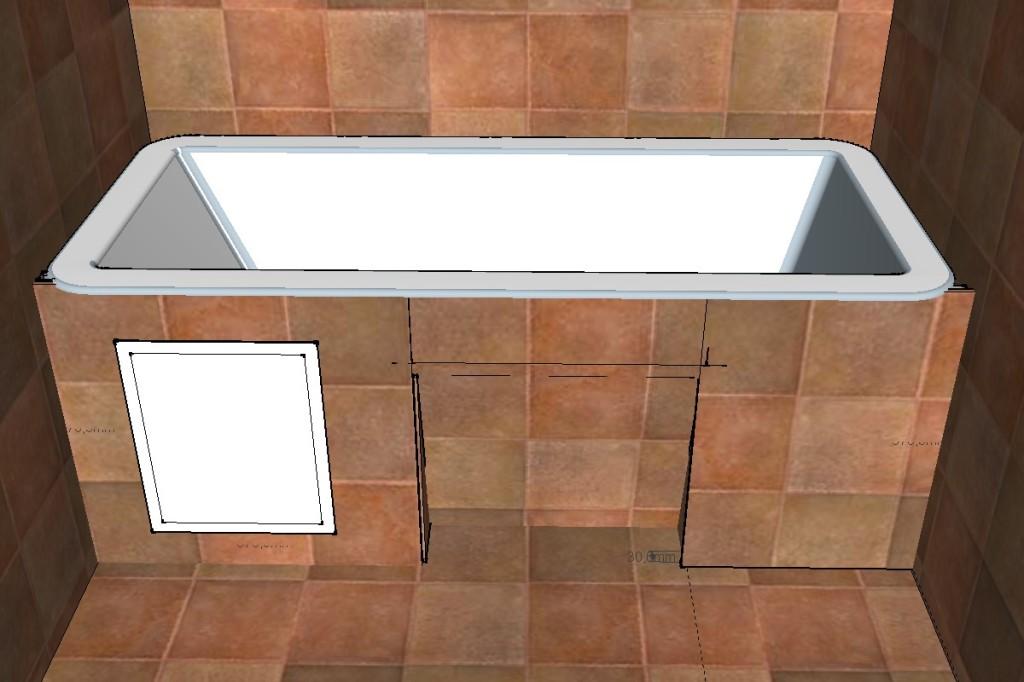 Экран для ванной видео