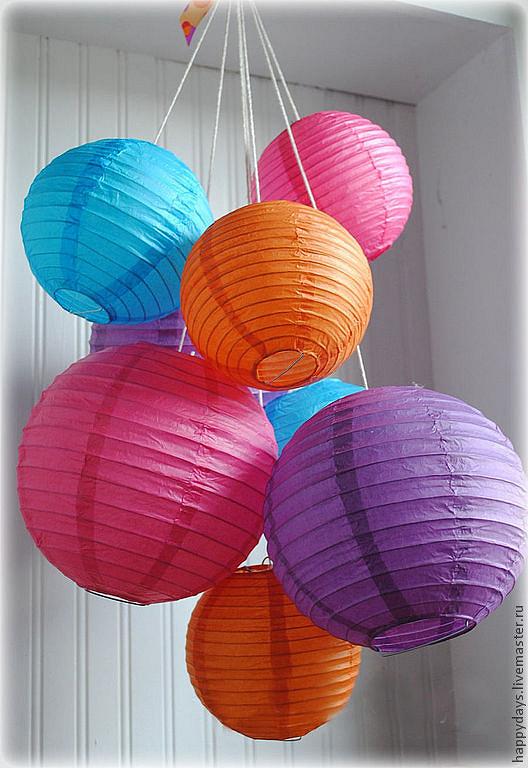 Воздушные фонарики из бумаги своими руками 76