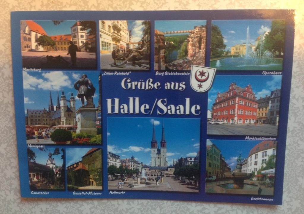 Почтовые открытки из германии