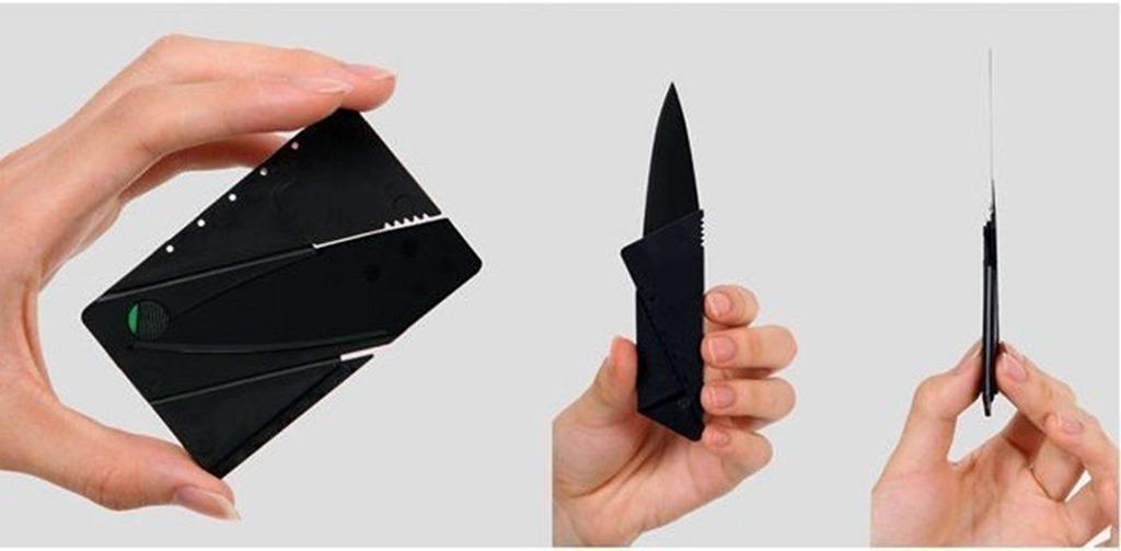 Tamronis Нож-карточка CardSharp 2 является самой известной.