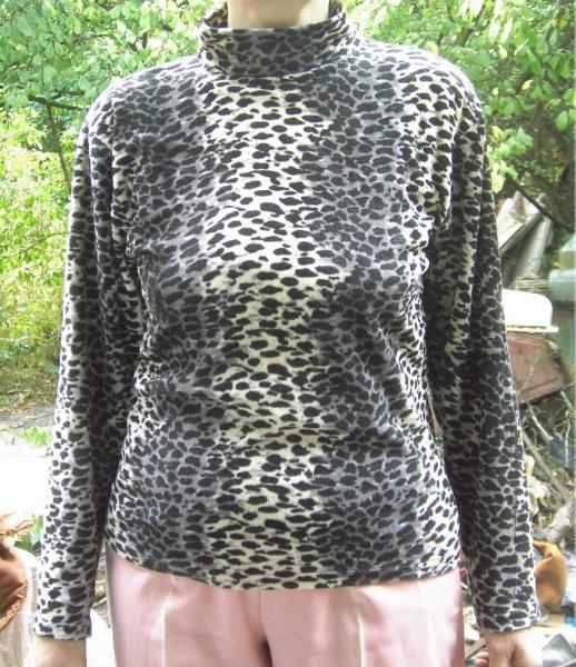 Джемпер Леопардовый С Доставкой